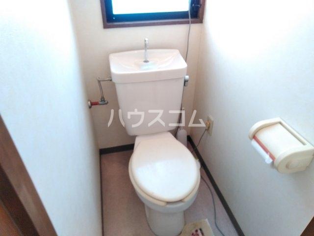 第2ハイツ早田 24号室のトイレ