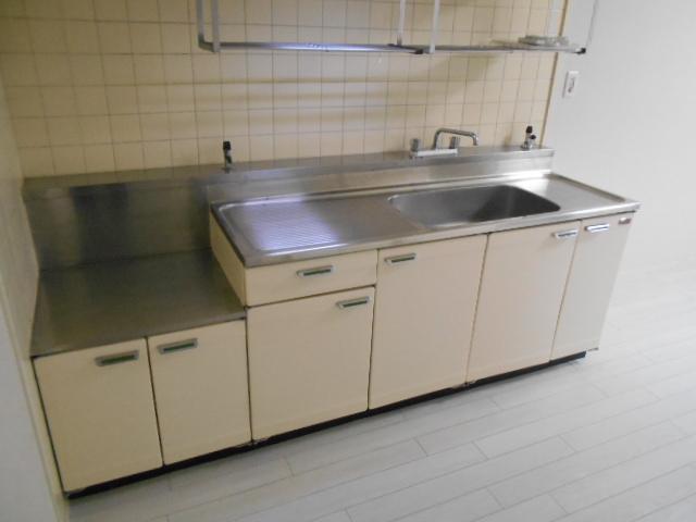 中川第6コーポ 605号室のキッチン