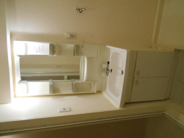 中川第6コーポ 605号室の洗面所