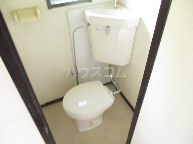 第二加藤ハイツ 202号室のトイレ