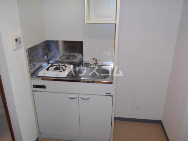 クリア・エヌ 201号室のキッチン