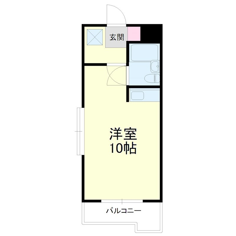 グレイス第3マンション・503号室の間取り