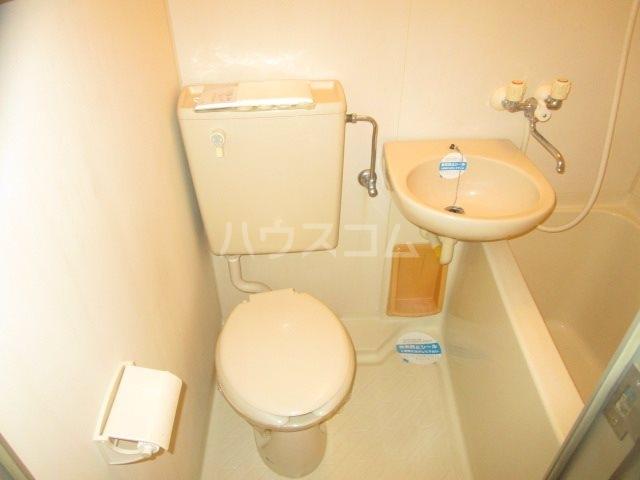 グレイス第3マンション 508号室のトイレ