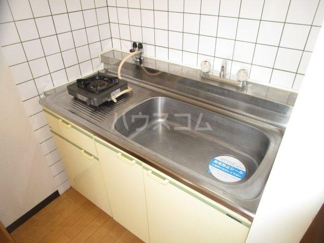 グレイス第3マンション 508号室のキッチン