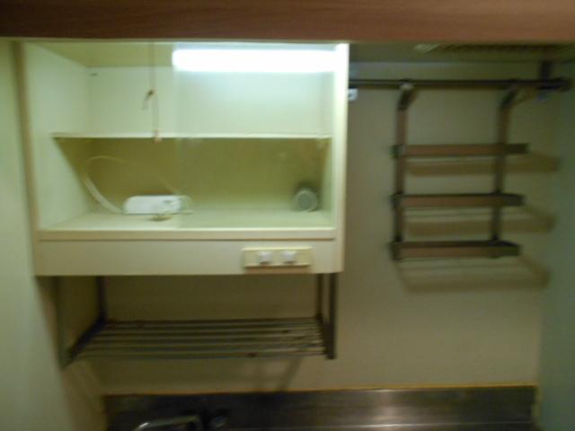 ハイツブルーム 203号室のキッチン