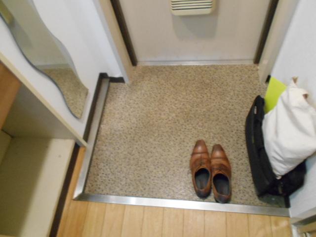 ハイツブルーム 203号室の玄関