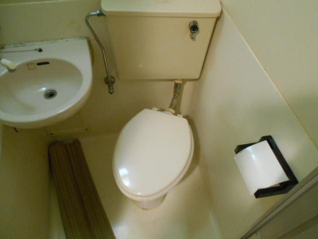 ハイツブルーム 203号室のトイレ