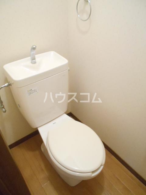 プリジェール太子道 202号室のトイレ