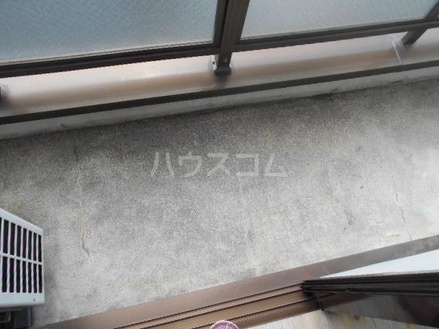 フラット6 403号室のバルコニー