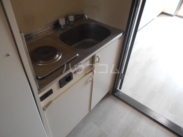 パルコーポ太子道 203号室のキッチン
