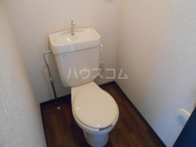 パルコーポ太子道 203号室のトイレ