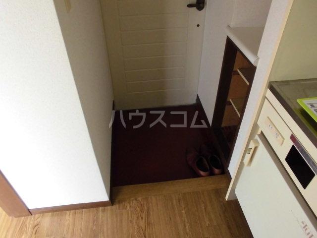 ピノハウス 208号室の玄関