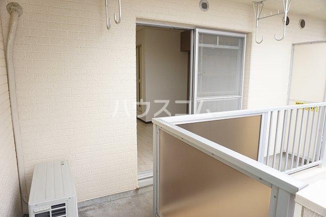 グレイス第1マンション 509号室のバルコニー