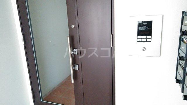 With結 203号室のセキュリティ