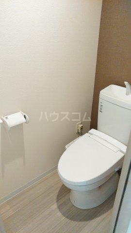 With結 203号室のトイレ