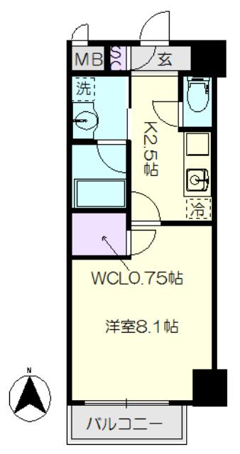 パークレジデンス上飯田駅前・303号室の間取り