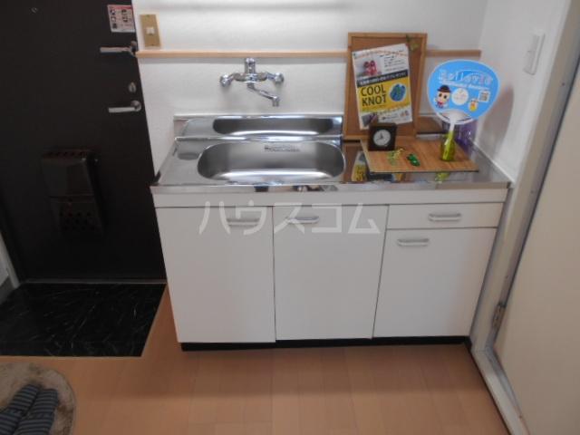 メゾンジュネス 202号室のキッチン