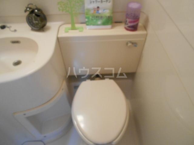 メゾンジュネス 202号室のトイレ