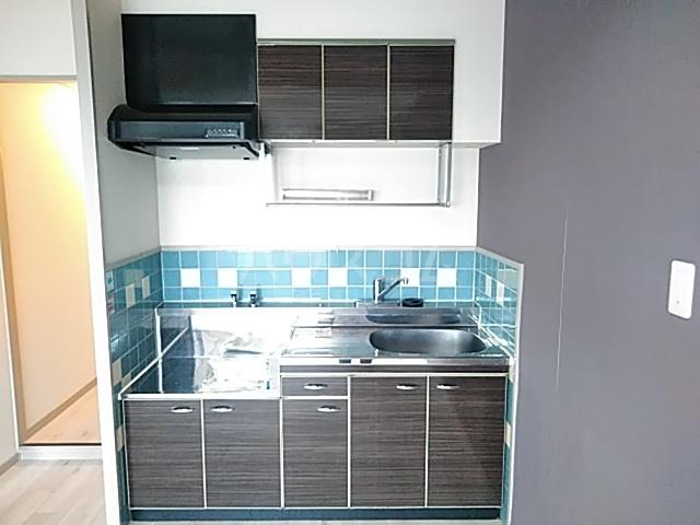 グリシーヌ京都西京極 1004号室のキッチン