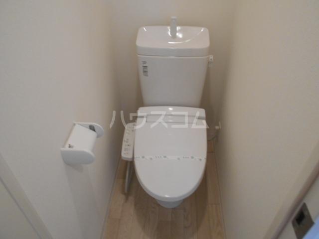アークリード西院 305号室のトイレ