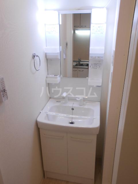 アークリード西院 305号室の洗面所