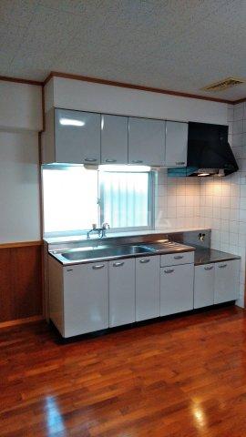 テラスヴェルデ B401号室のキッチン