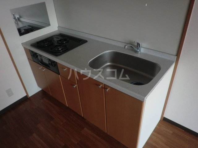 パストラルM 201号室のキッチン