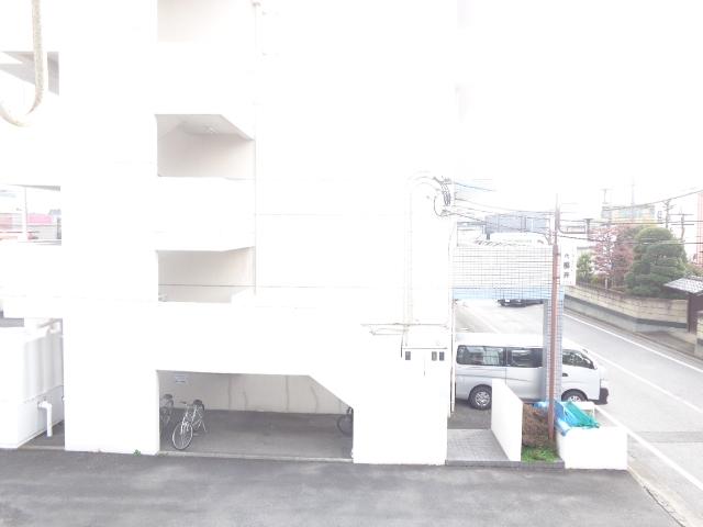 パープルハイツ 202号室の景色