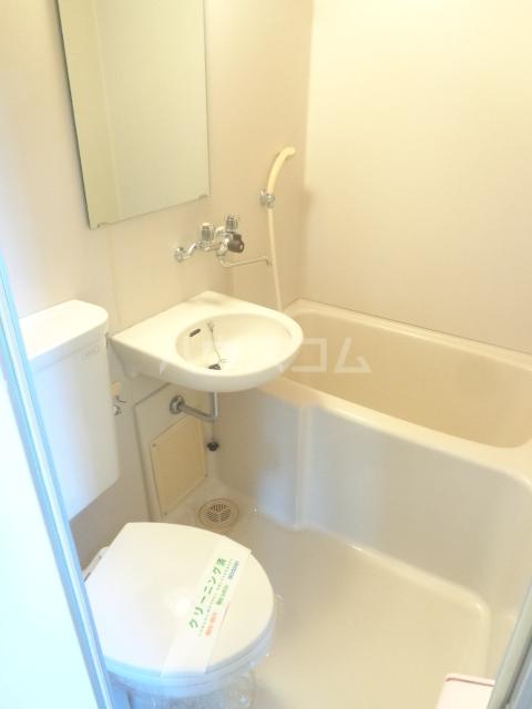 パープルハイツ 202号室の風呂