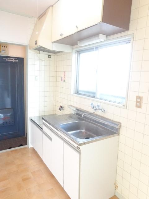 パープルハイツ 202号室のキッチン