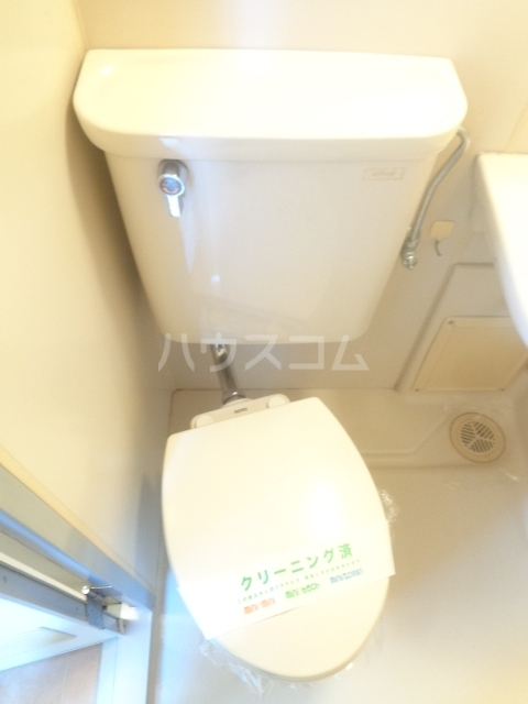 パープルハイツ 202号室のトイレ