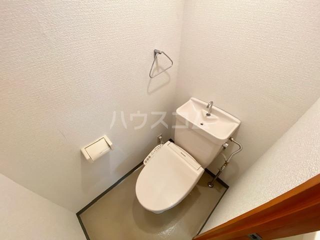 メゾン静一号棟 301号室のトイレ