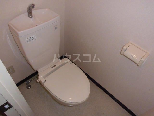 メゾン静二号棟A 303号室のトイレ