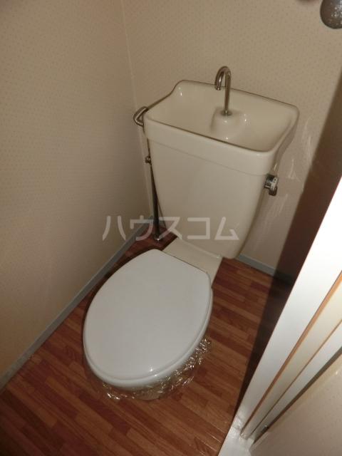 ハイツドゥエル 202号室のトイレ