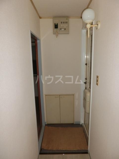 ハイツドゥエル 202号室の玄関