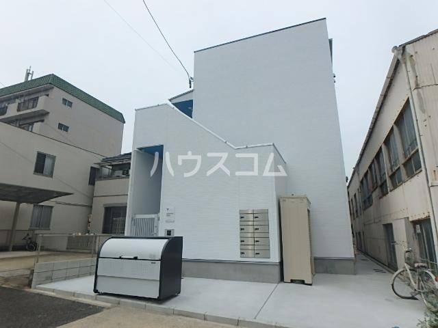 pavillon honnete biwajima 105号室の外観