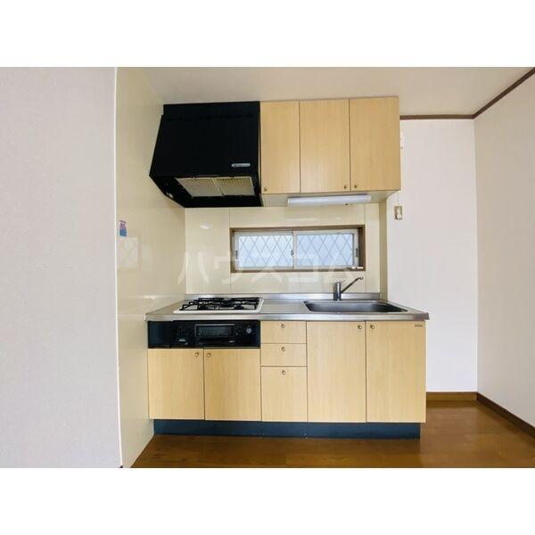 シャトー白菊 201号室のキッチン