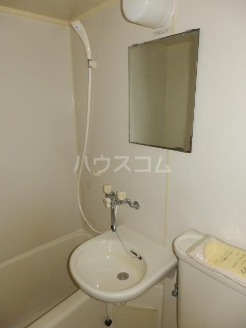 サンリバーイナダ 203号室の洗面所