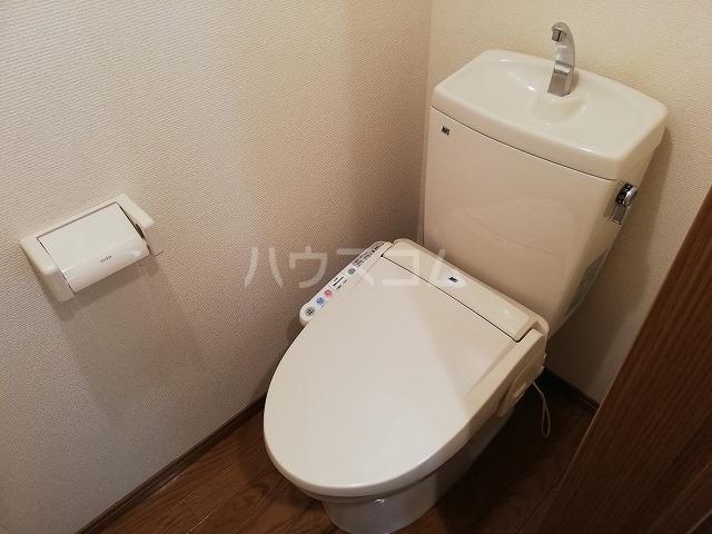 ガイア春日町 102号室のトイレ