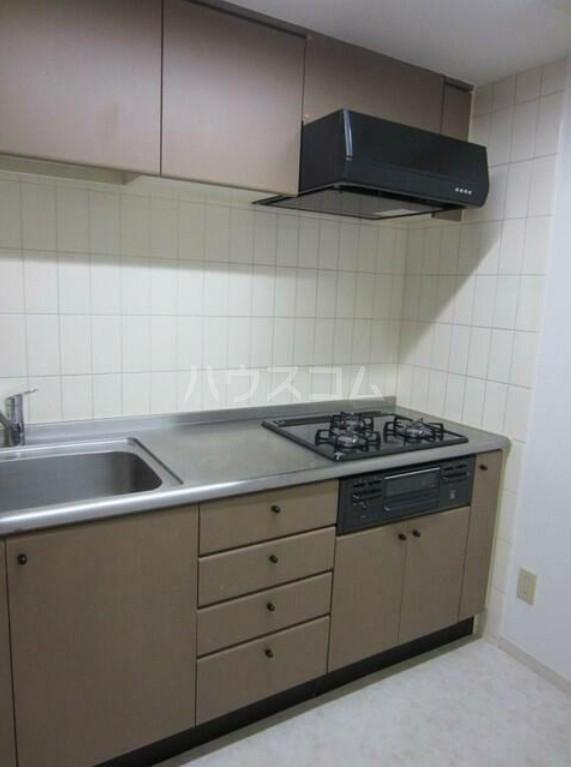ファシネス玉川台 602号室のキッチン