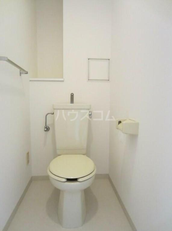 ファシネス玉川台 602号室のトイレ