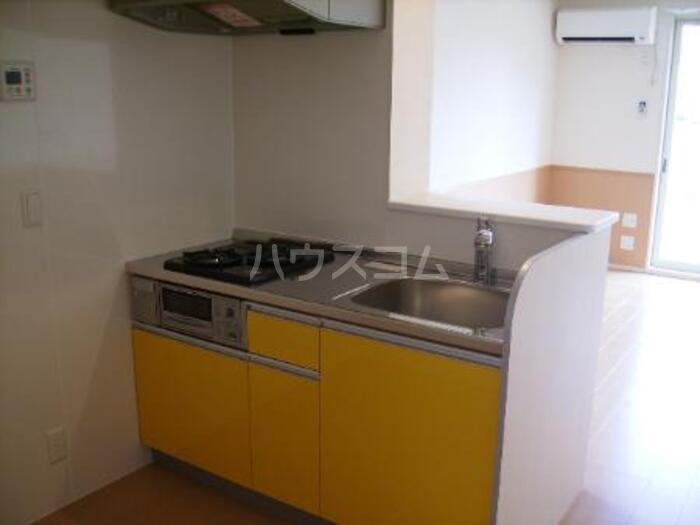 メイユール A 101号室のキッチン