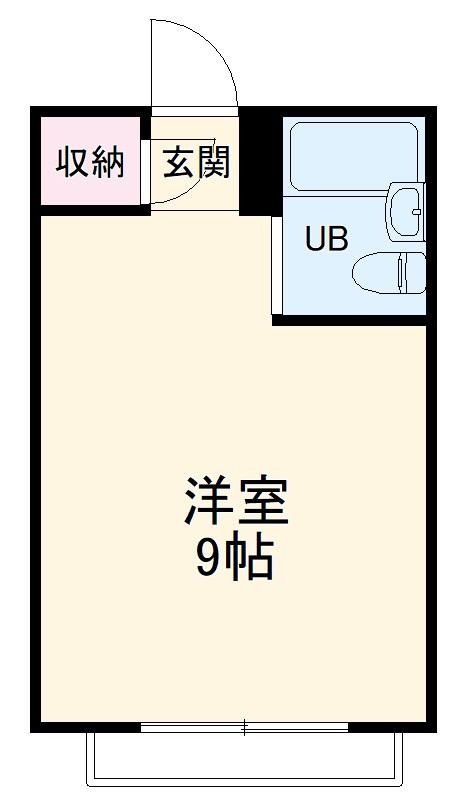 アヤベマンション・102号室の間取り