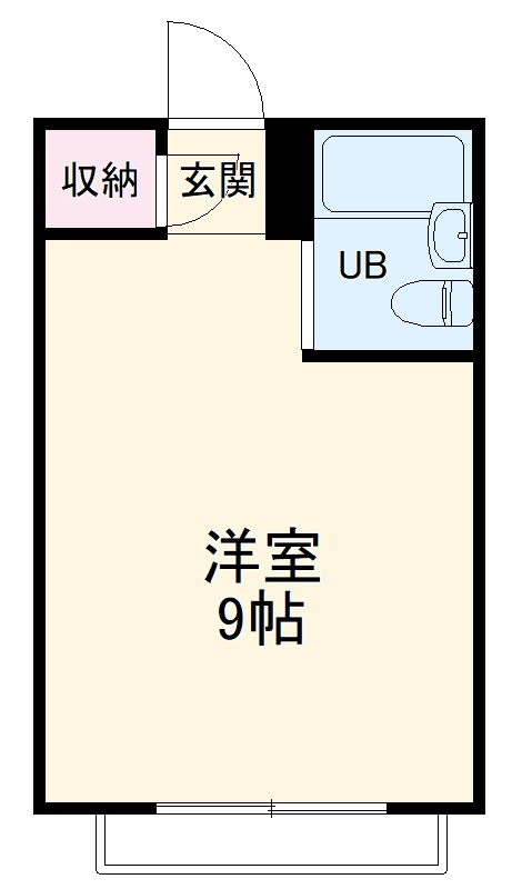 アヤベマンション・104号室の間取り