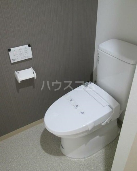 ヨコハマベイウエスト 401号室のトイレ