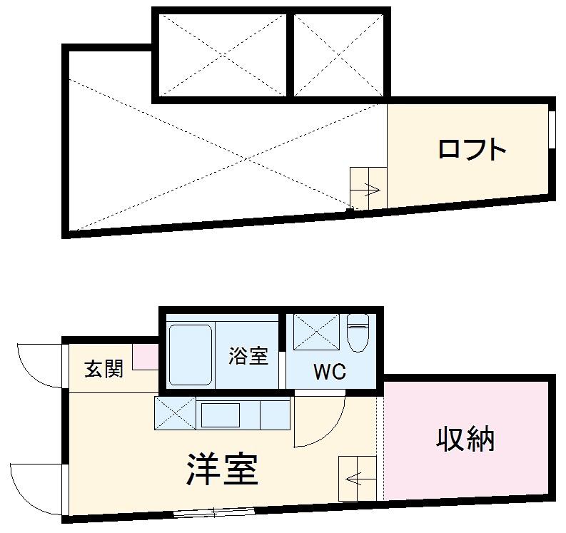 Confort横浜妙蓮寺・302号室の間取り