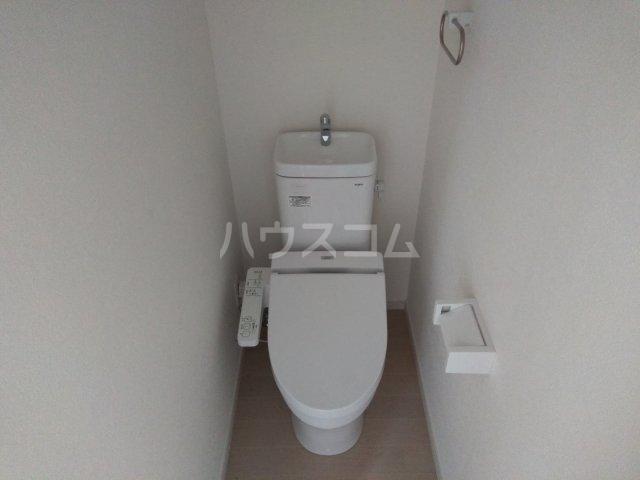 プライムテラス東海大学前Ⅰ 202号室のトイレ