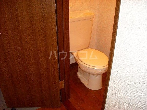 ヴェルテ 203号室のトイレ