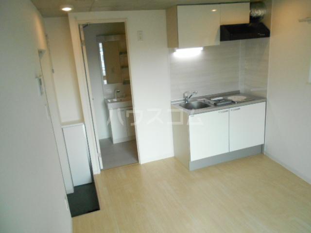 FUSION上板橋 401号室のキッチン