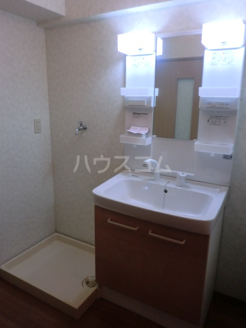 グレースERI 3C号室の洗面所